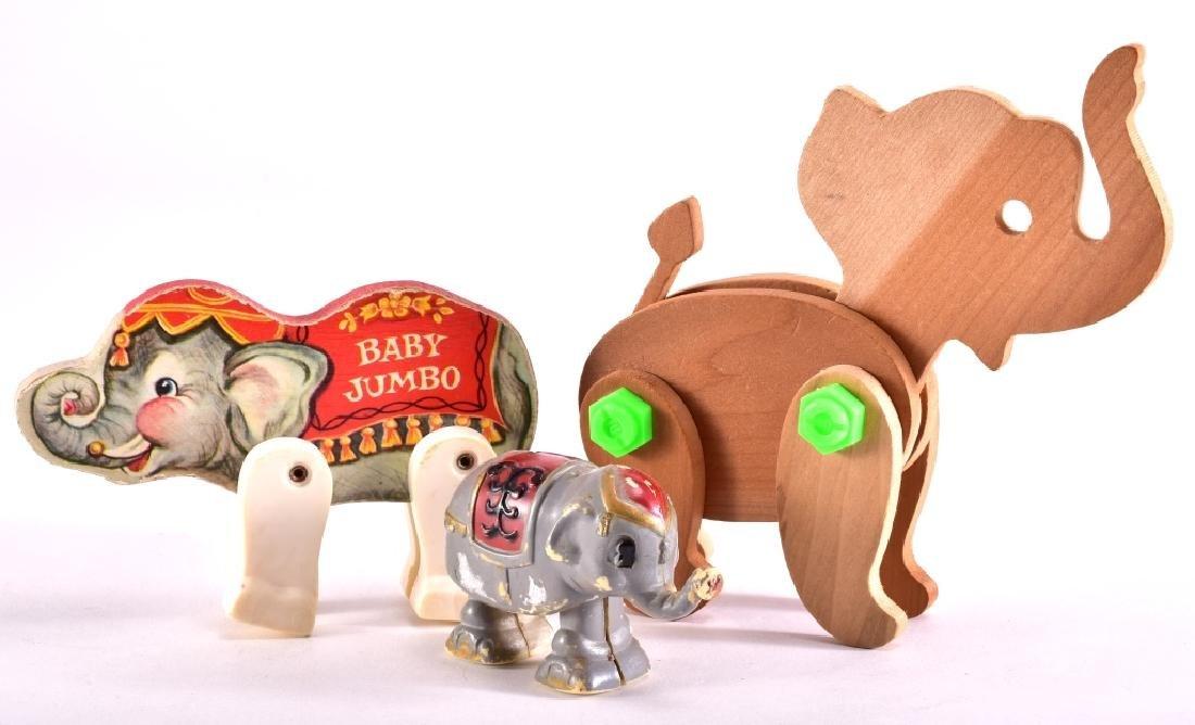 Vintage Elephant Toys