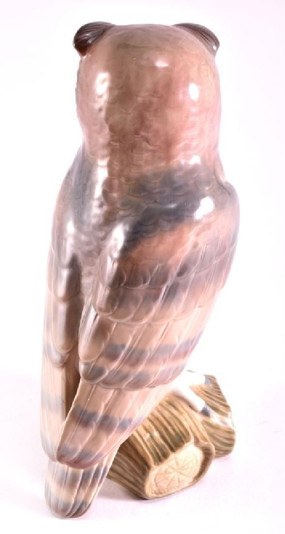 "Lladro ""Short Eared Owl"" Porcelain Figurine - 3"