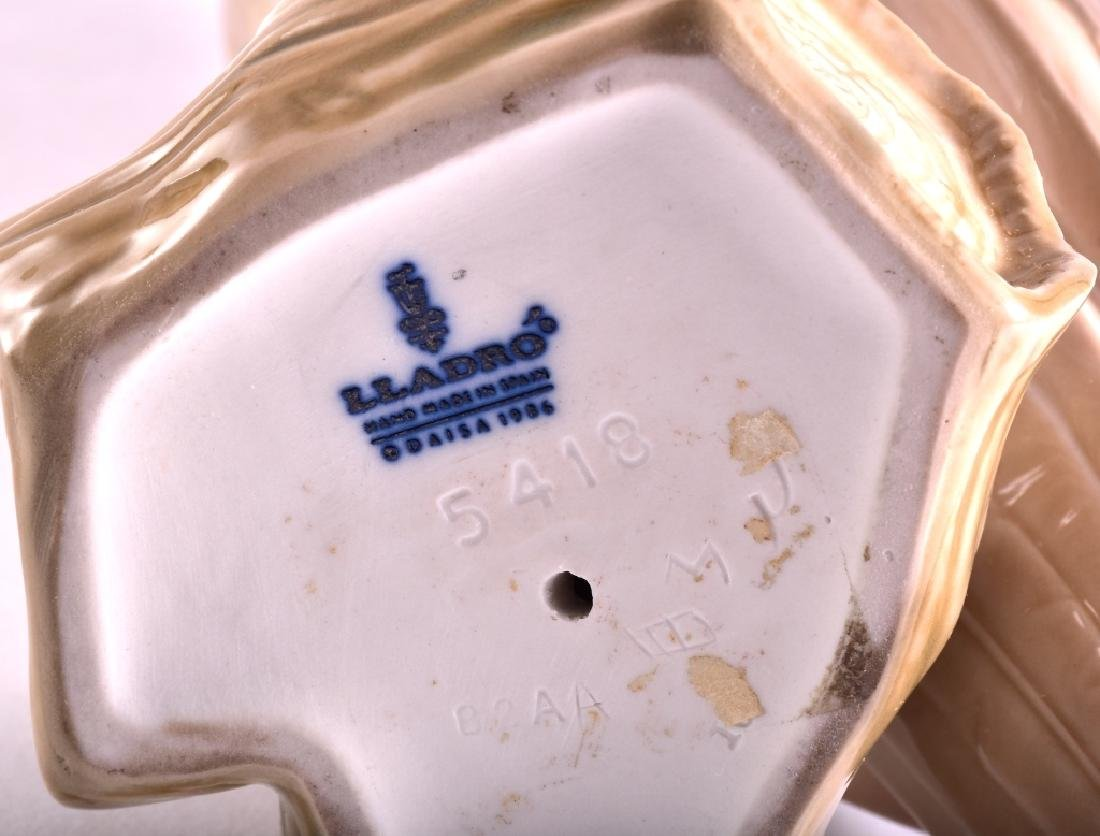 "Lladro ""Short Eared Owl"" Porcelain Figurine - 4"