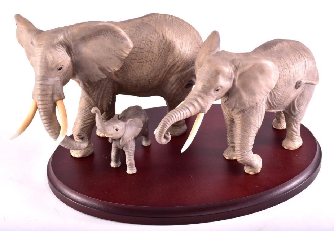Lenox African Elephant Family