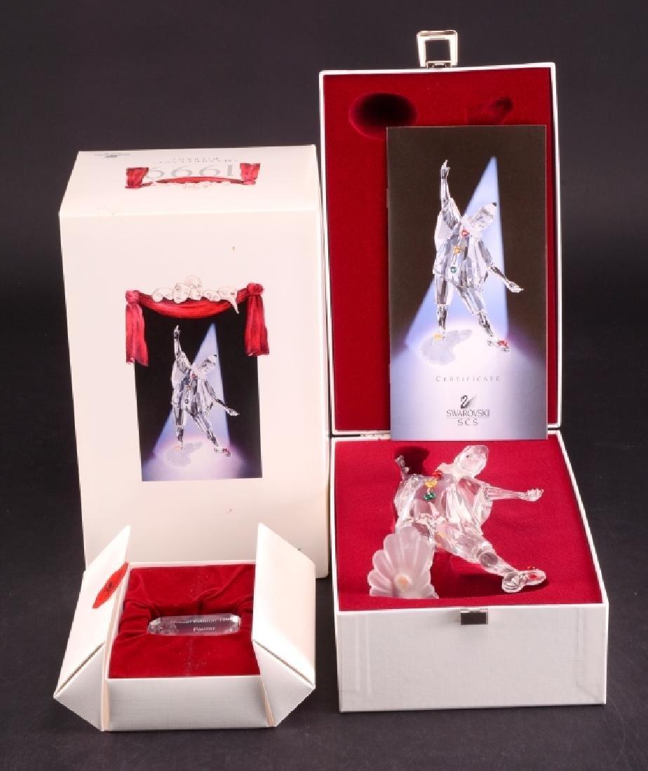 Swarovski 1999 Masquerade Pierrot Figurine