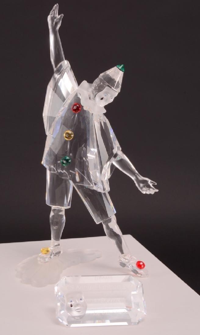 Swarovski 1999 Masquerade Pierrot Figurine - 2
