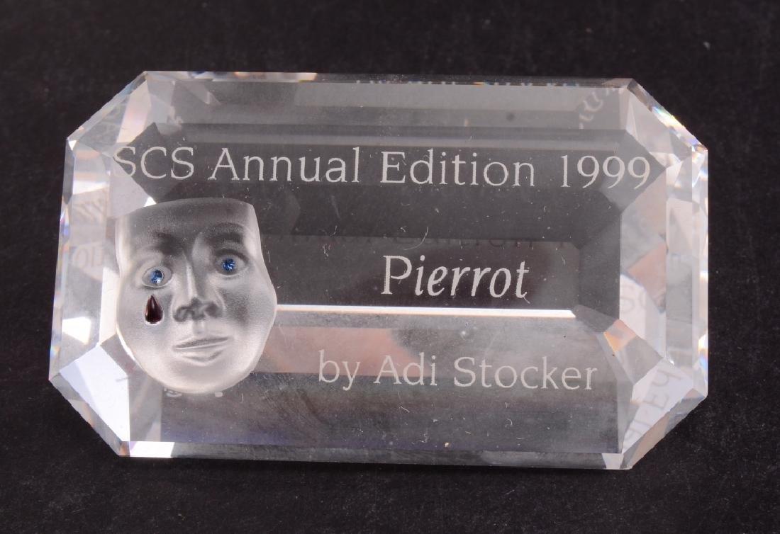 Swarovski 1999 Masquerade Pierrot Figurine - 3