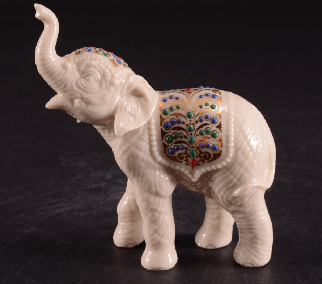 Lenox Palace Parade Elephant Calf Figurine - 4