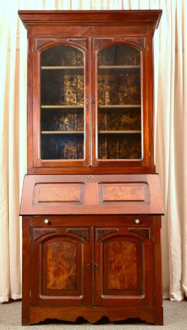 Antique Secretary Bookcase