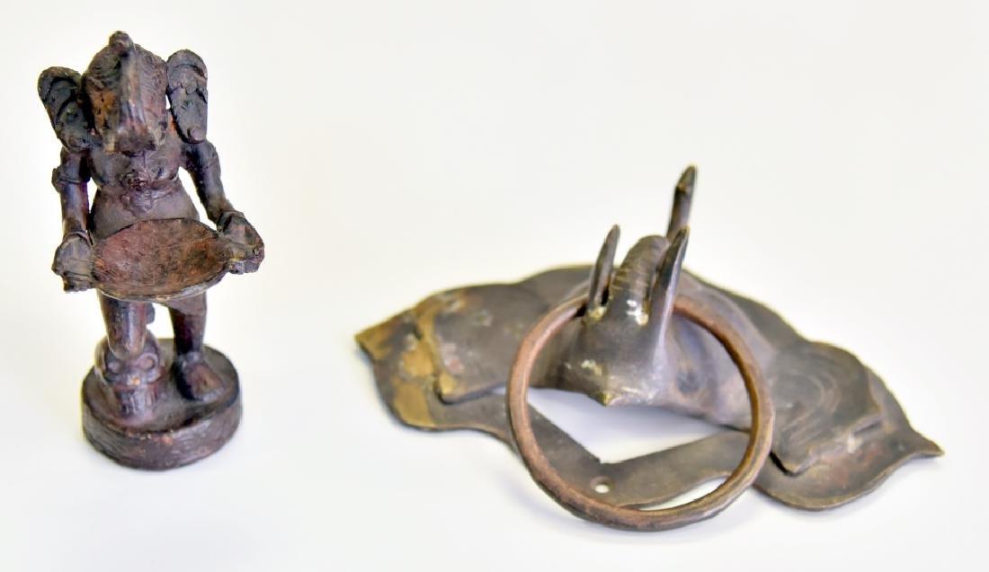 Elephant Door Knocker & Incense Burner