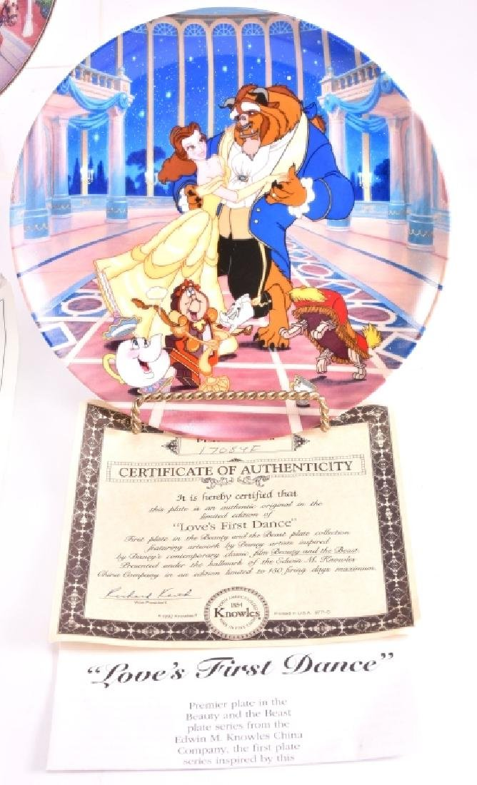 4 Disney Collector Plates - 2