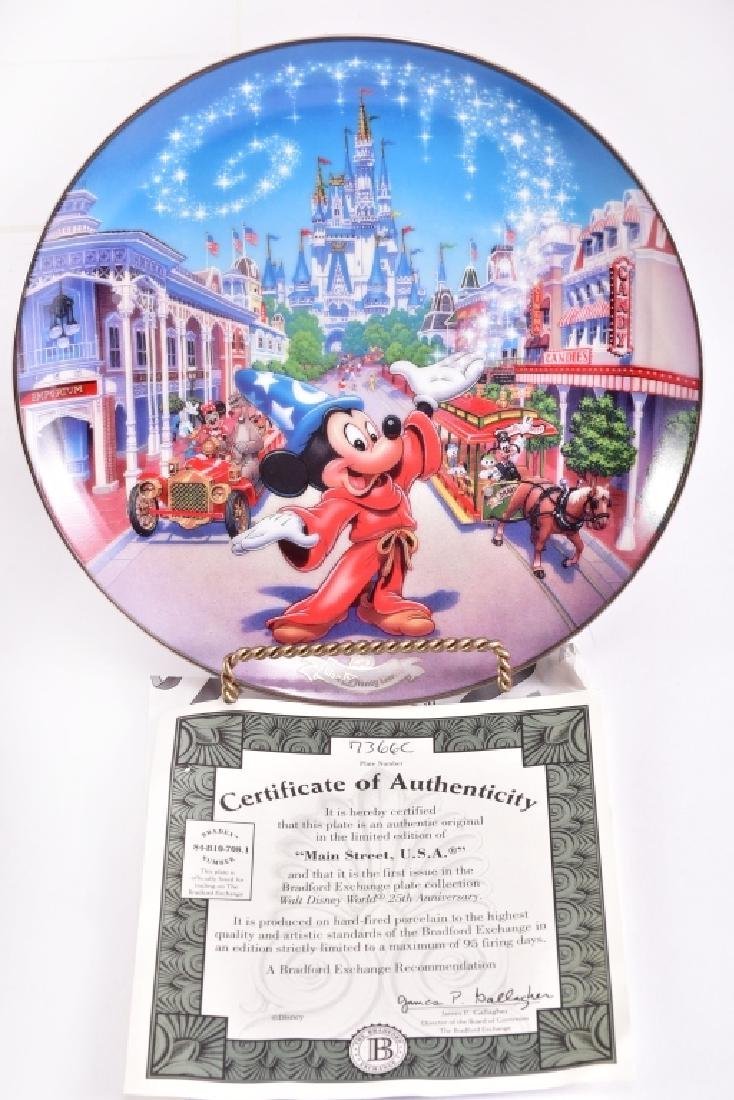 4 Disney Collector Plates - 4