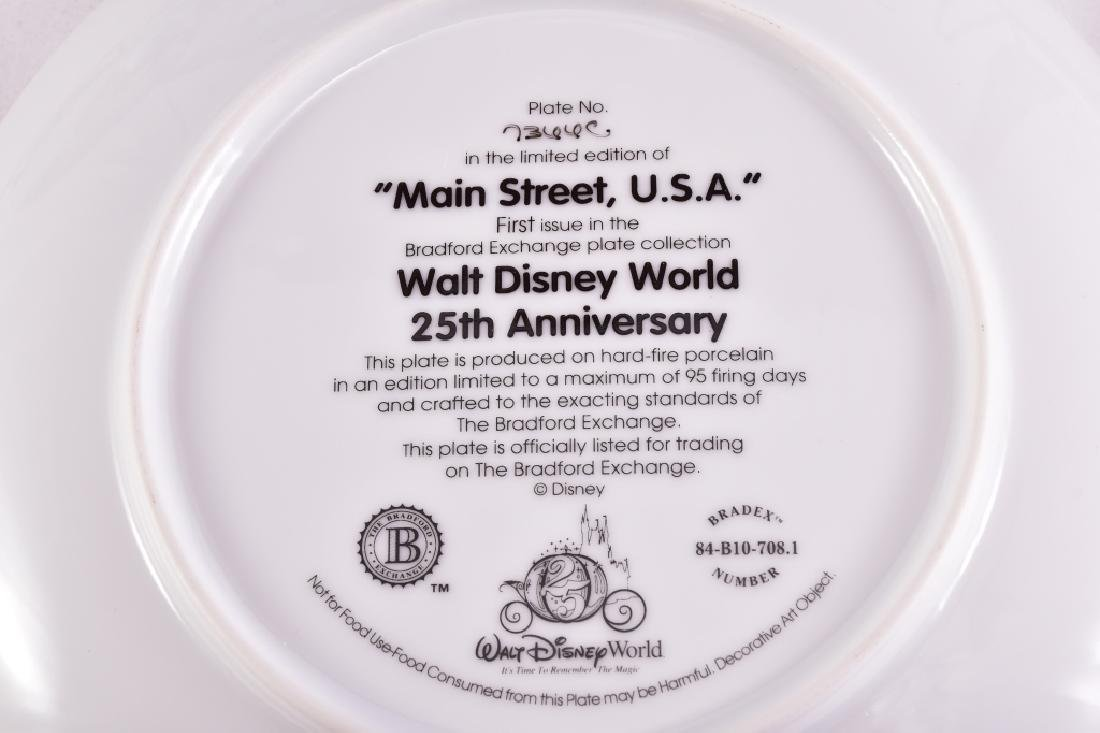 4 Disney Collector Plates - 5