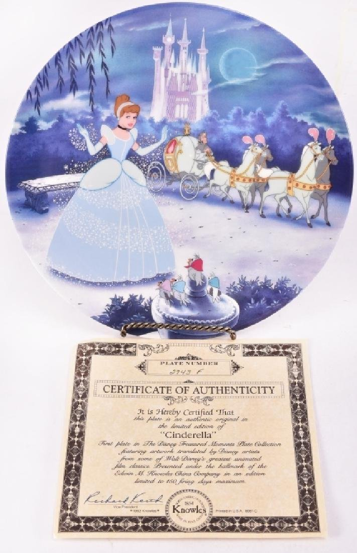 4 Disney Collector Plates - 8