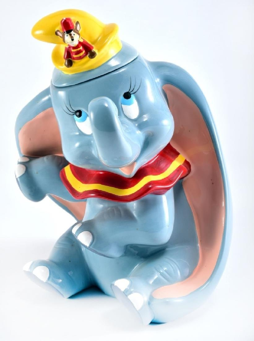 Disney Dumbo & Timothy Ceramic Cookie Jar