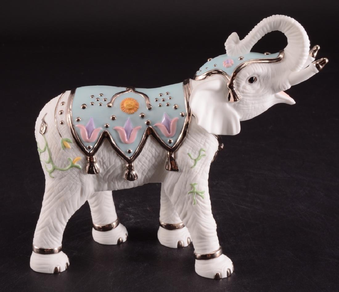 Lenox Platinum Classic White Elephant Figurine