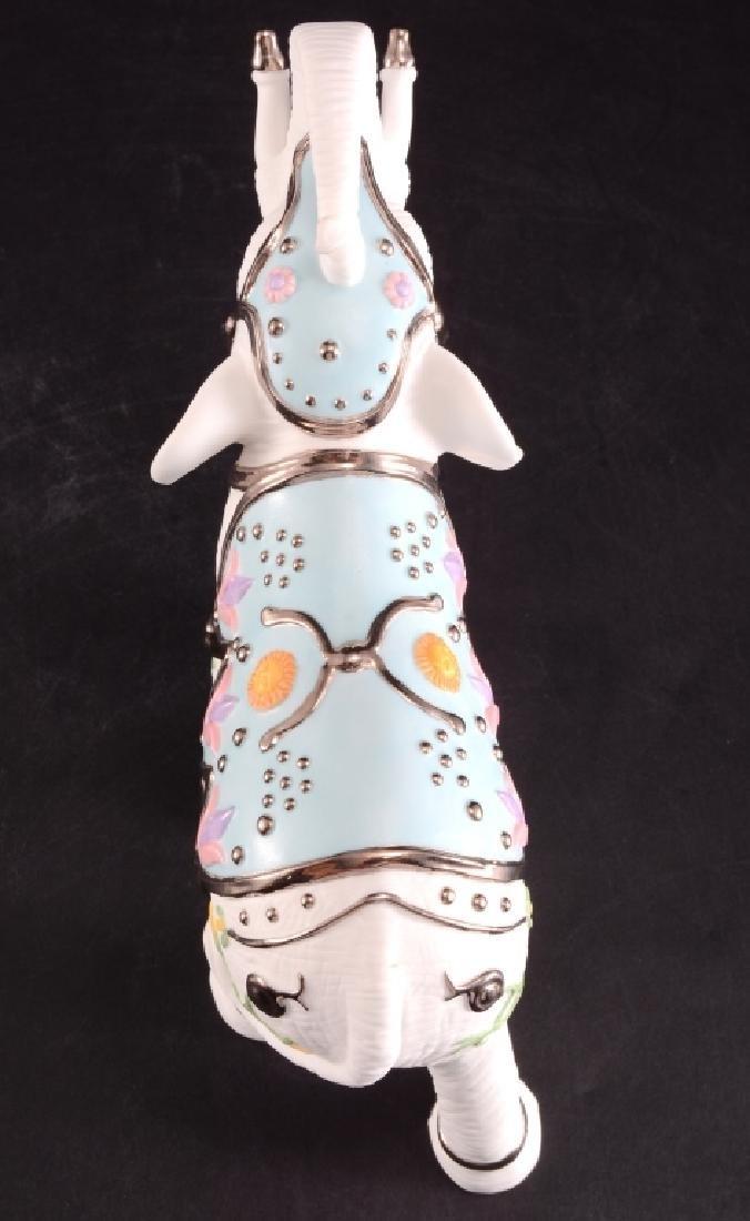 Lenox Platinum Classic White Elephant Figurine - 3