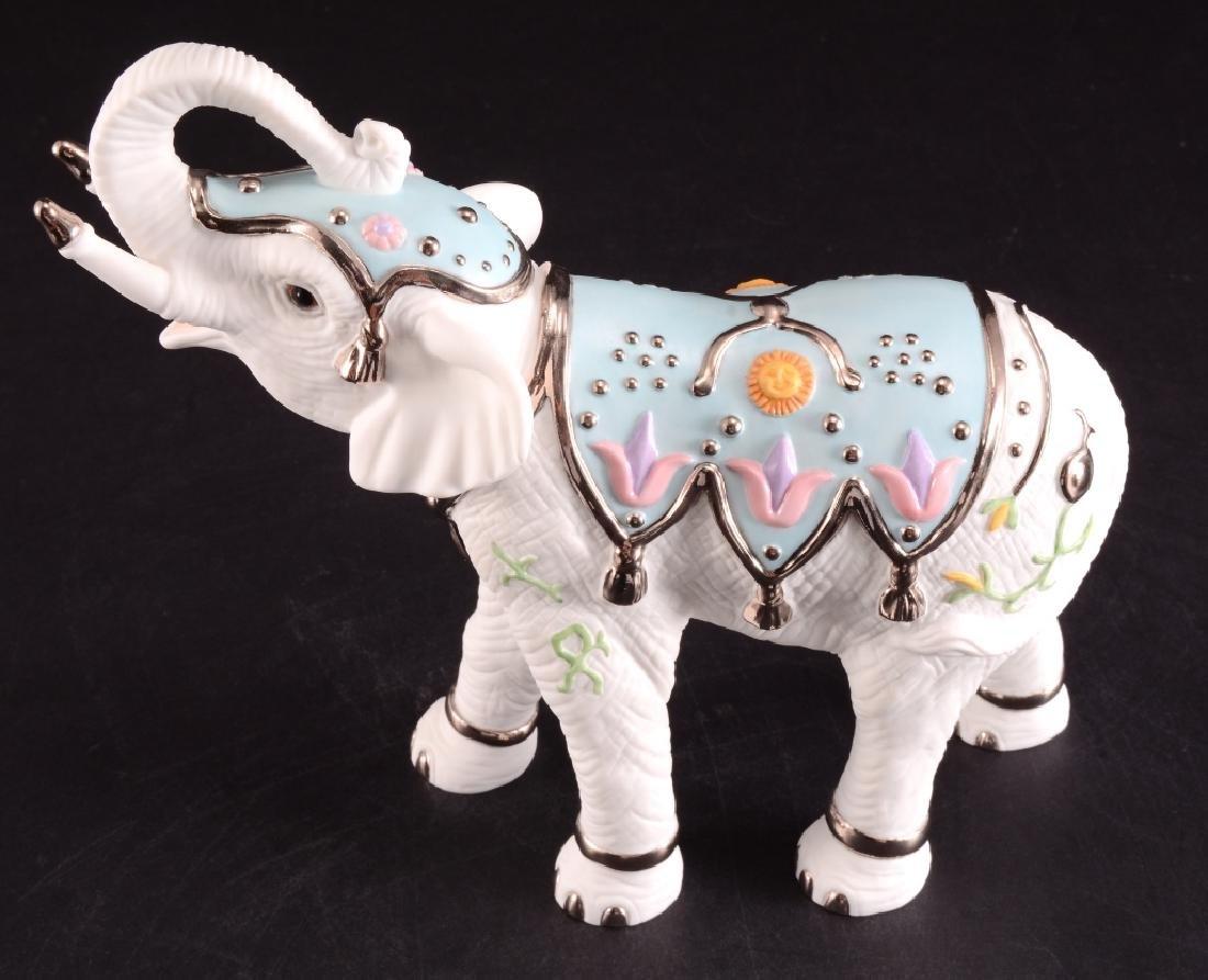 Lenox Platinum Classic White Elephant Figurine - 5