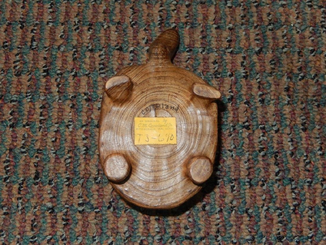 Vintage C M Copeland Jr. Folk Art Turtle - 2
