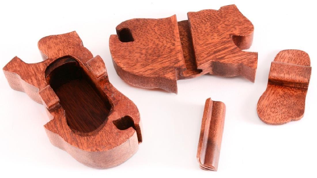 Wood Elephant Puzzle Box - 2