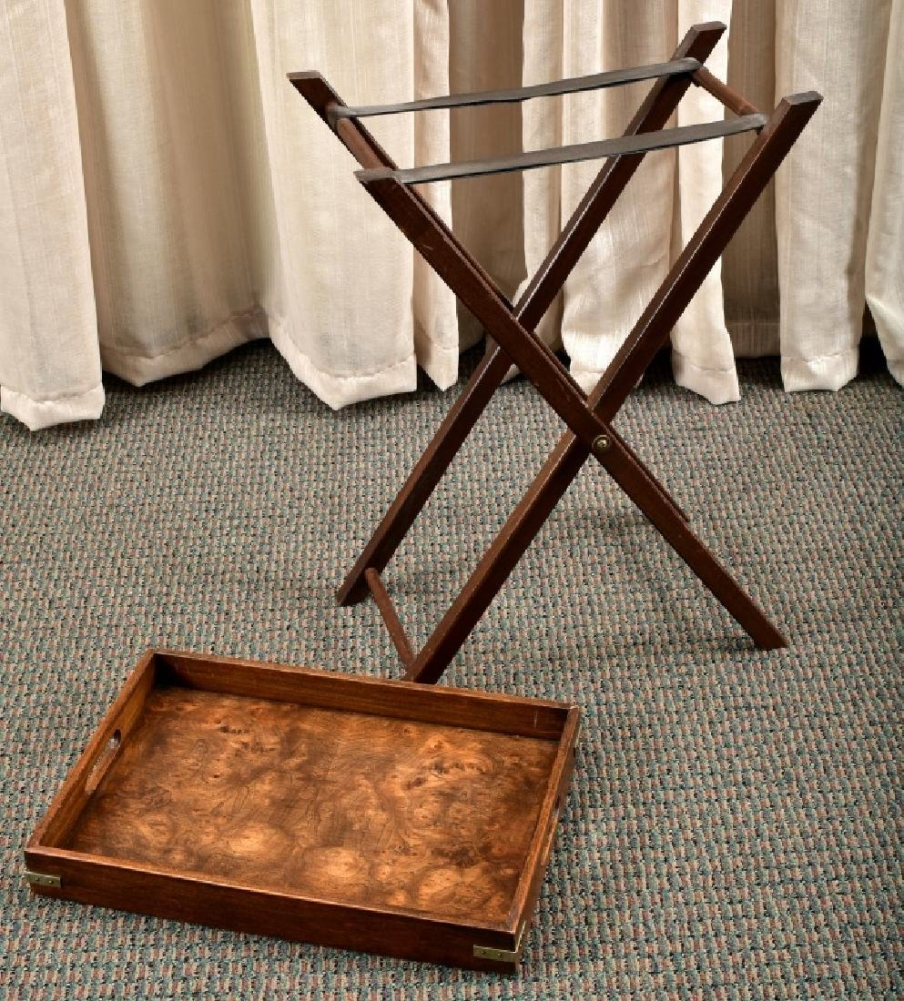Small Butler's Tray & Stand - 2