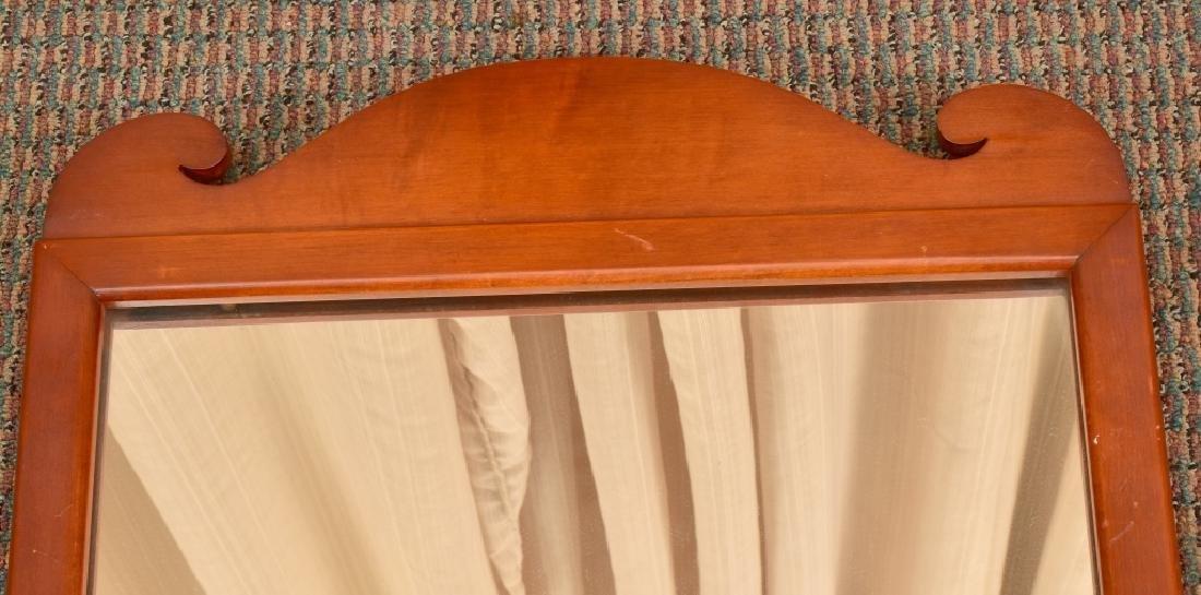 Antique Wooden Mirror - 2
