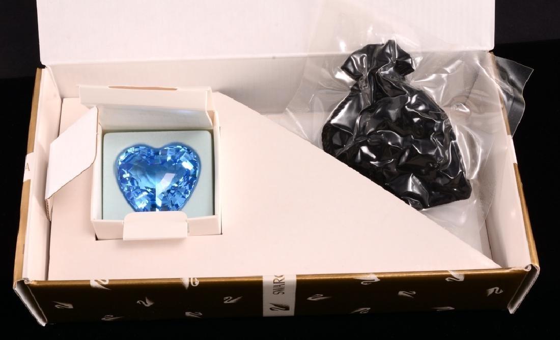 Swarovski 1997 SCS Member Blue Heart Renewal Gift