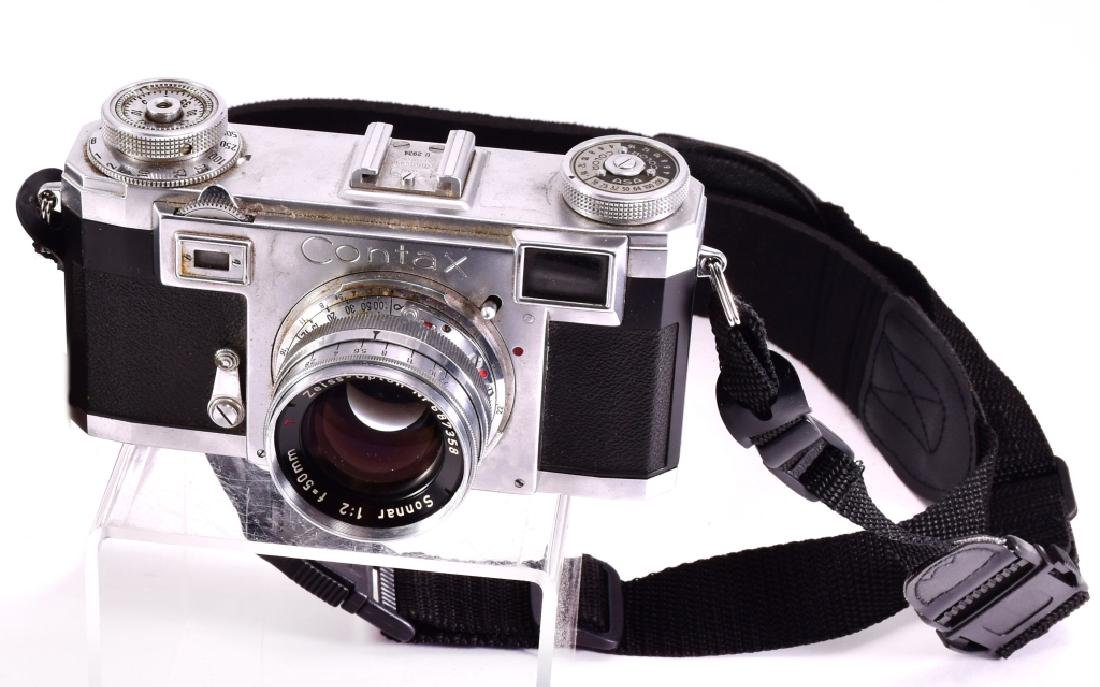 Zeiss Ikon Contax Camera