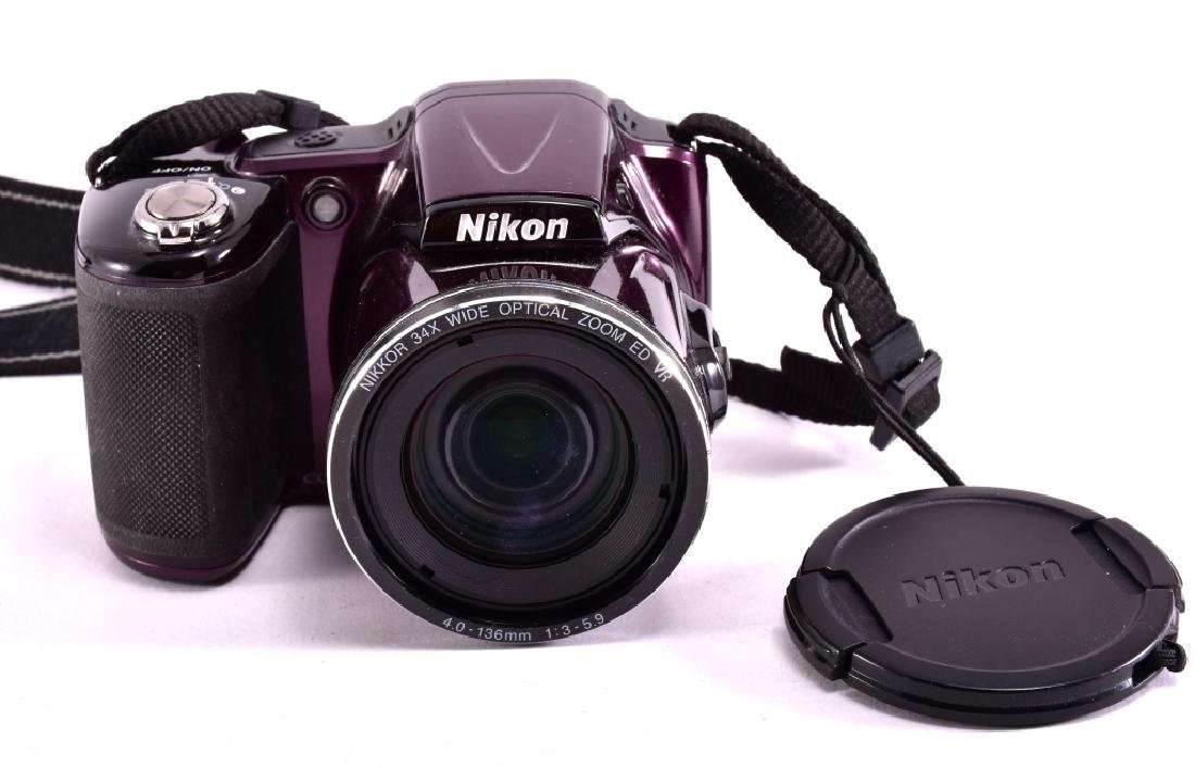 Nikon Cool Pix L830 16 MP Plum Digital Camera - 2