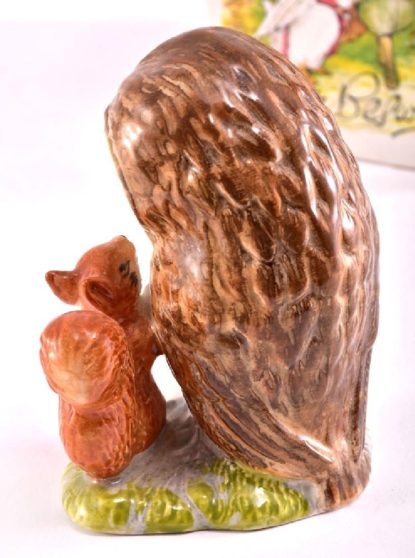 """Beatrix Potter """"Old Mr. Brown"""" Owl Figurine - 3"""
