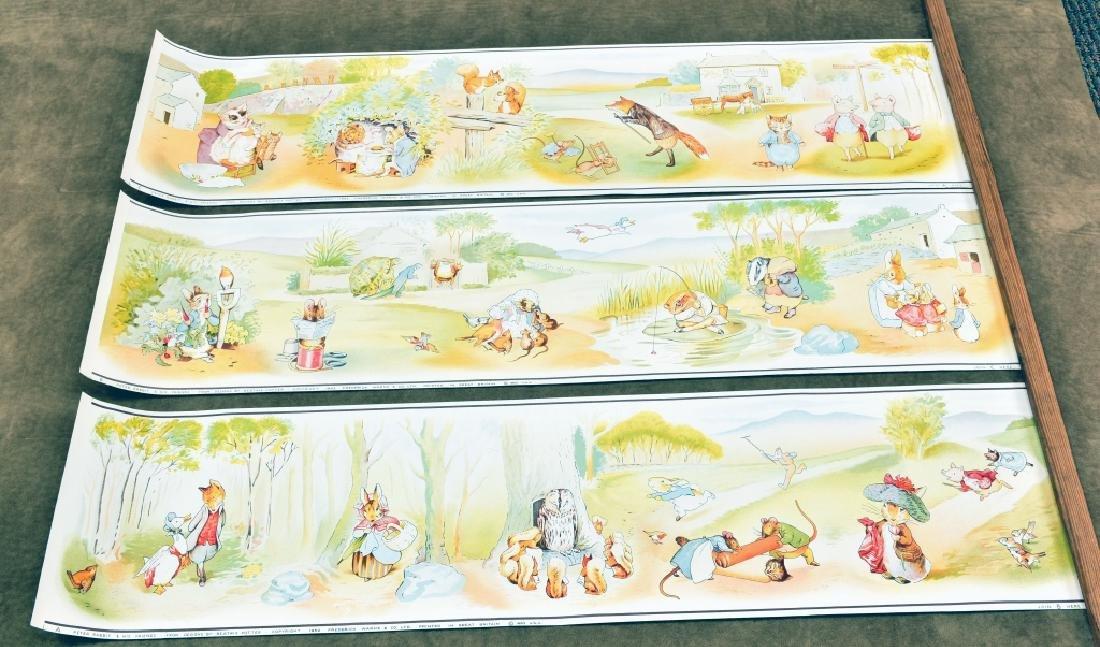 3 Beatrix Potter Border Prints