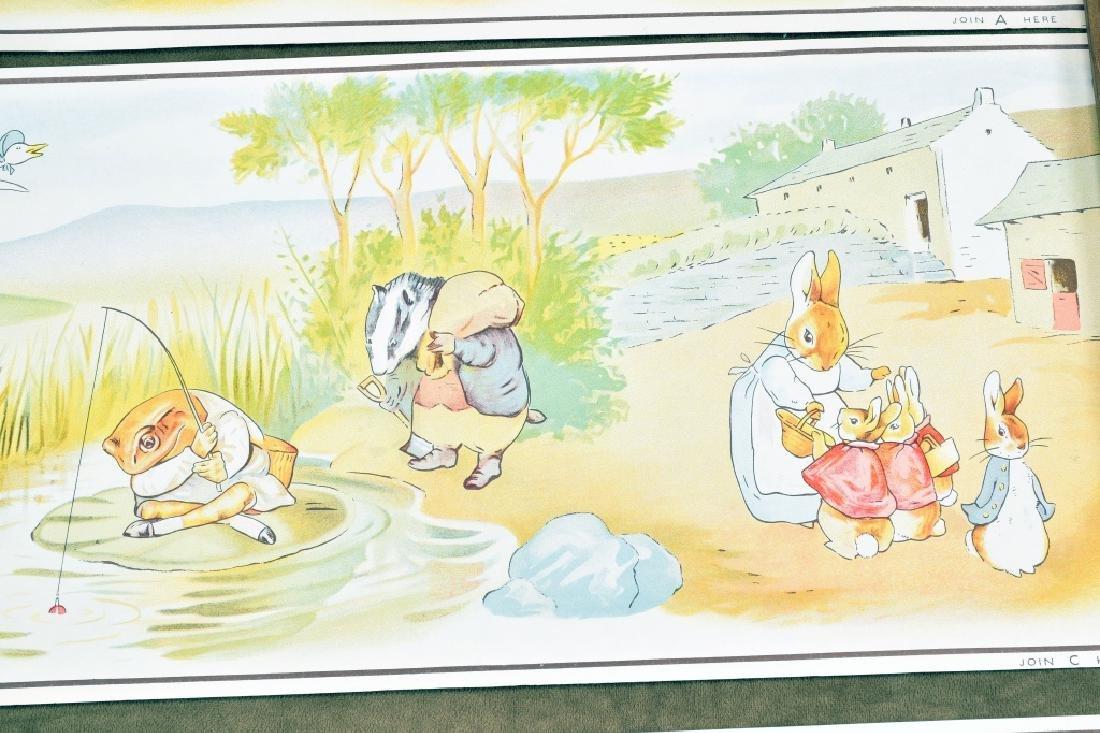 3 Beatrix Potter Border Prints - 4