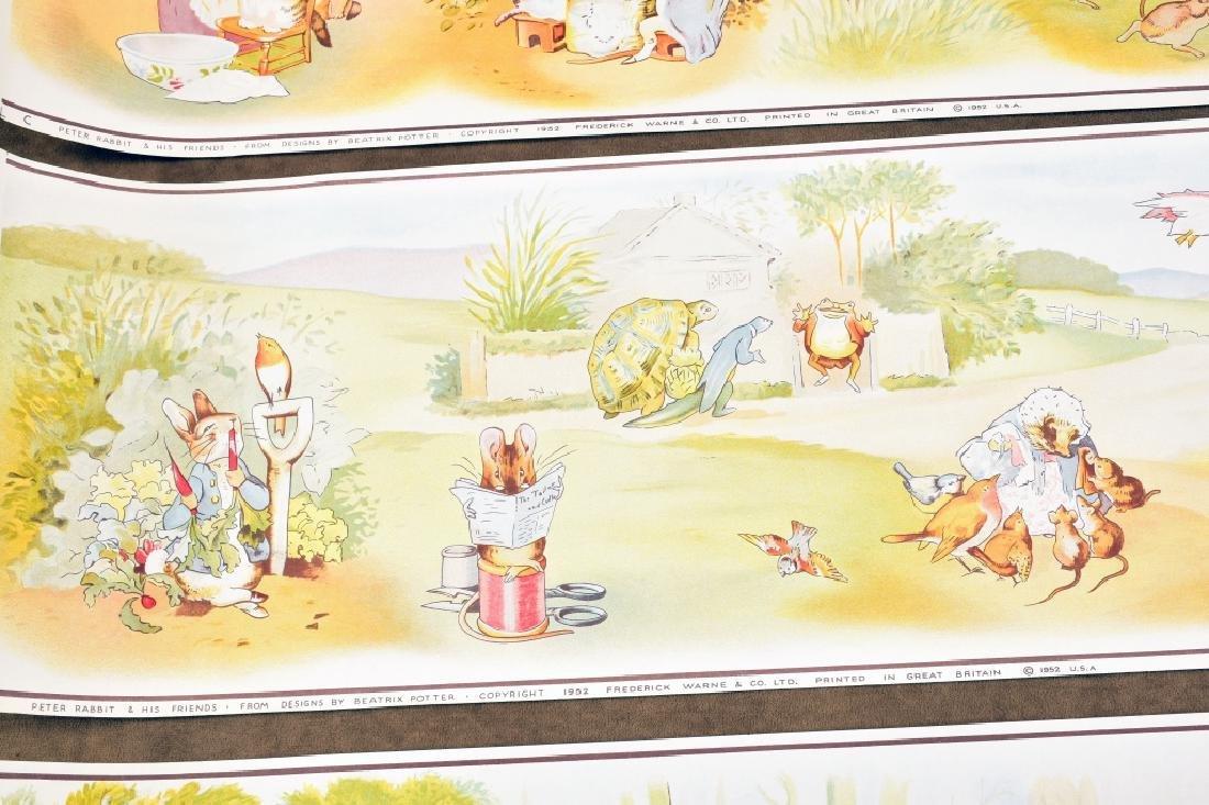 3 Beatrix Potter Border Prints - 5
