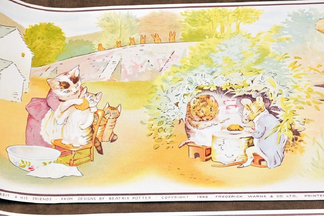 3 Beatrix Potter Border Prints - 6