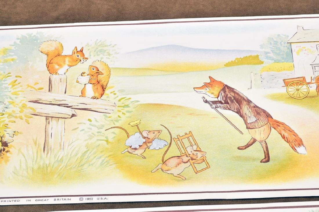 3 Beatrix Potter Border Prints - 7