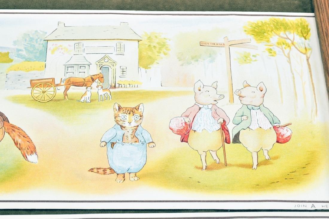 3 Beatrix Potter Border Prints - 8