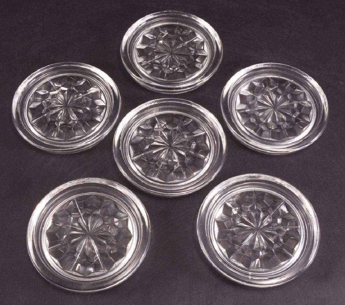 6 Fostoria American Coasters - 2