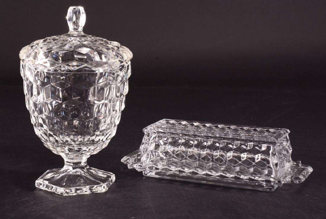 Fostoria Covered Butter & Candy Dish