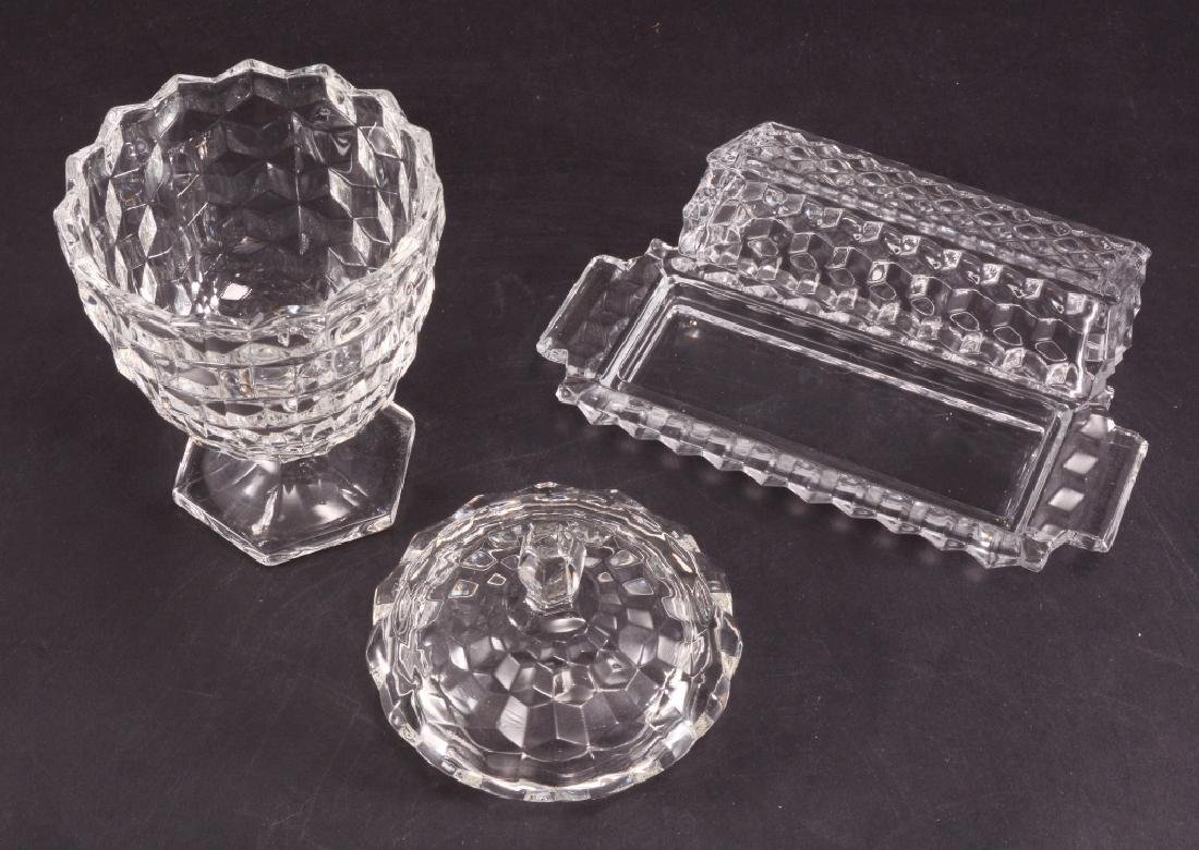 Fostoria Covered Butter & Candy Dish - 2