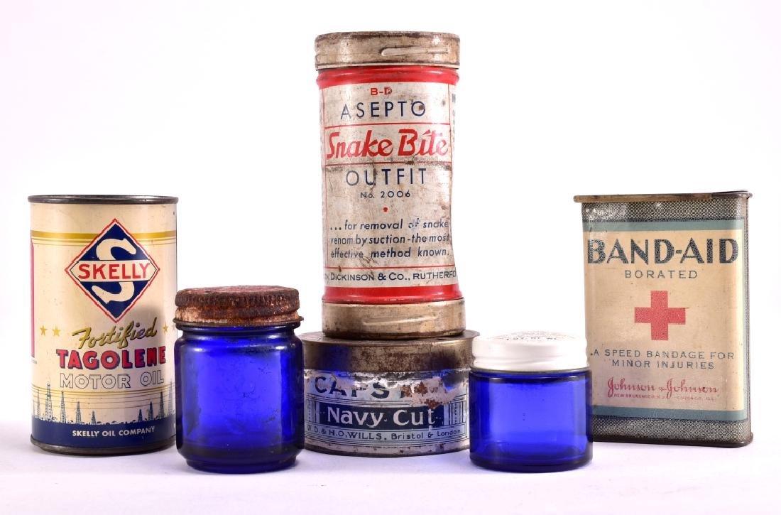 Vintage Cans & Bottles