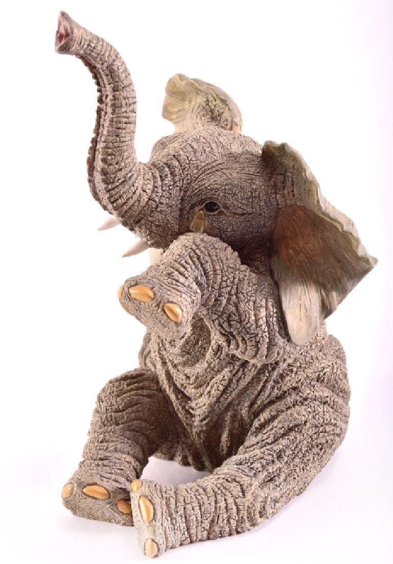 Lenox Tear of Joy Elephant Figurine - 2