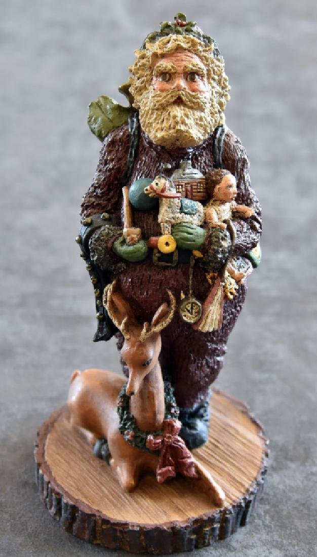 June McKenna Limited Edition Santa Figurine