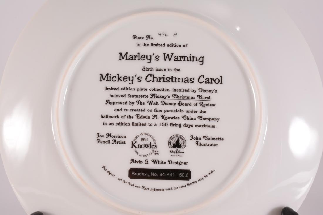 8 Mickey's Christmas Carol Collector Plates - 11