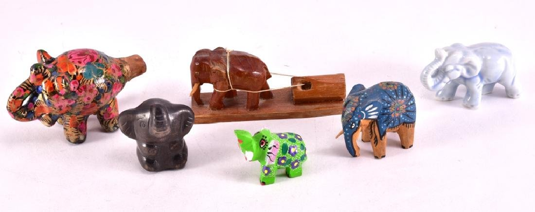 Floral Ceramic Elephant Whistle & More