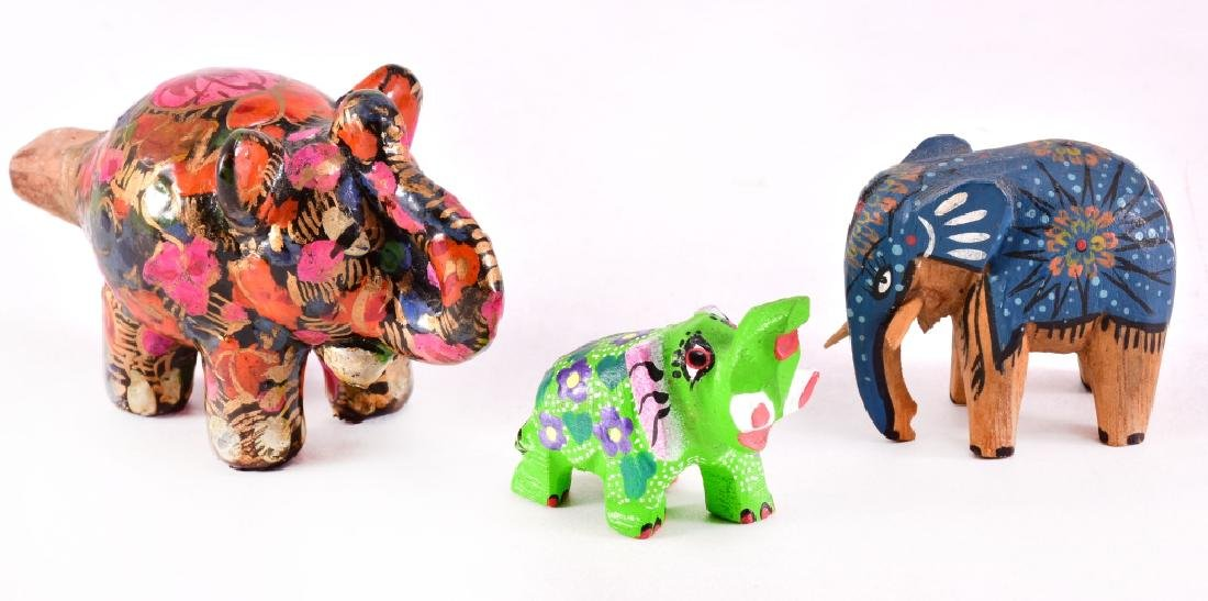 Floral Ceramic Elephant Whistle & More - 3