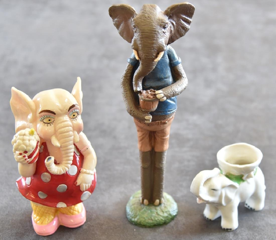 Vintage Elephant Bank & More