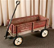 Vintage Radio Flyer Wood Wagon