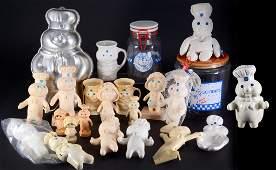 Vintage Pillsbury Poppin Fresh Collectibles