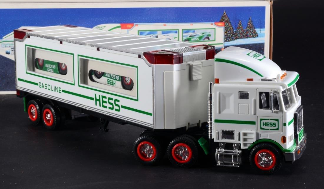 3 Vintage Hess Toy Trucks - 3