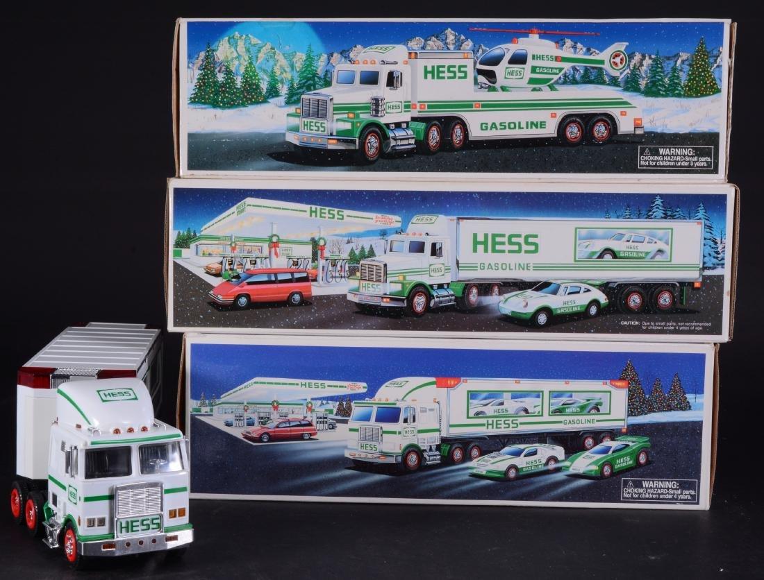 3 Vintage Hess Toy Trucks - 4