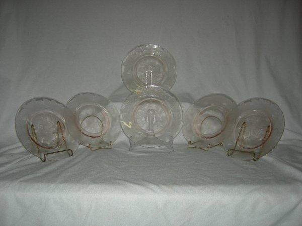 9: Pink Depression Glass
