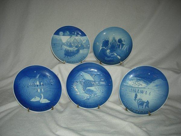 18: B&G Christmas Plates