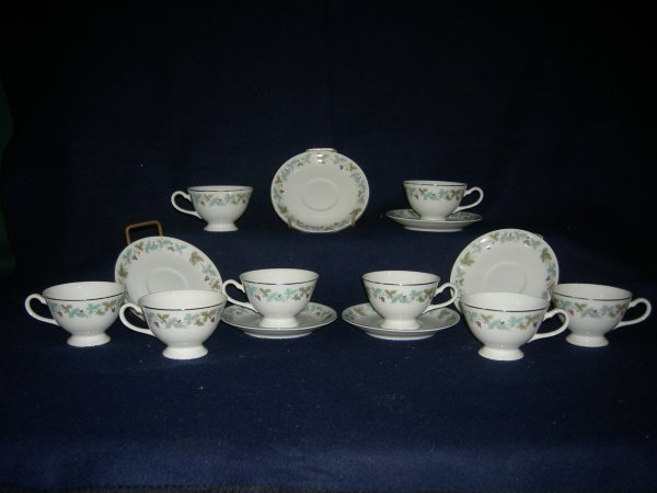23: Japanese China Cups