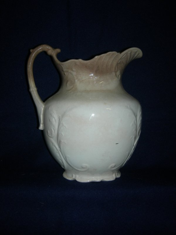 24: Vintage Ceramic Pitcher